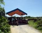 Dân dựng lều trại phản đối bãi rác gây ô nhiễm môi trường