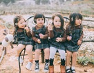 Bộ ảnh ngộ nghĩnh của 4 bé gái có mẹ là bạn thân