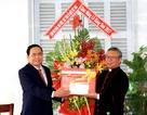 Chủ tịch Mặt trận Tổ quốc Việt Nam thăm, chúc mừng Giáng sinh Tòa Giám mục