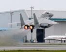 Máy bay chiến đấu Nhật Bản rơi mất bộ phận tên lửa khi cất cánh