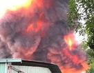 Vụ hoả hoạn cực lớn: Cháy kho hoá chất rộng hơn 500m2