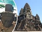 Tìm thấy tượng thánh bảo trợ ở đền Angkor Wat