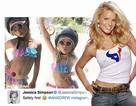 Nữ ca sĩ bị cư dân mạng chỉ trích vì đăng ảnh con mặc bikini