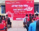 Hàng ngàn đơn vị máu được hiến tặng trong ngày chủ nhật