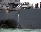 Hai chỉ huy mất chức vì vụ tàu khu trục USS McCain bị đâm móp