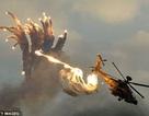 Cận cảnh siêu trực thăng Apache Mỹ dùng săn đuổi IS ở Tabqa (Syria)