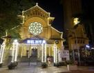 Hình ảnh các nhà thờ Hà Nội rực rỡ trong đêm trước Giáng sinh