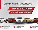 Nissan tổ chức chuỗi sự kiện lái thử xe trong tháng 3/2017
