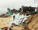 Dân thấp thỏm vì triều cường đánh sập nhà, bào mòn đất