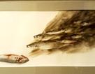 Họa sĩ trẻ 9X triển lãm tranh màu nước và… lửa về ô nhiễm môi trường biển