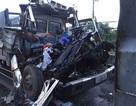 Tài xế và phụ xe tử vong trong ca bin xe tải