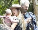 Adam Levine hạnh phúc bên vợ trẻ con xinh