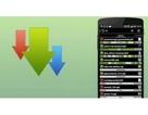 Ứng dụng quản lý và tăng tốc download dữ liệu trên smartphone