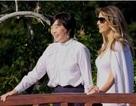 Bà Melania Trump lần đầu thể hiện vai trò đệ nhất phu nhân