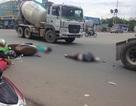 Tông vào hông xe container, 2 mẹ con tử vong tại chỗ