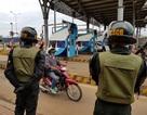 Gần 100 cảnh sát giữ an ninh trong ngày đầu trạm BOT Biên Hòa thu phí trở lại