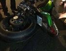Xe Kawasaki 1.000 phân khối đâm gãy lìa chân một thanh niên