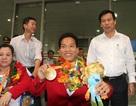 Đoàn thể thao Người khuyết tật Việt Nam về nước sau thành công tại Paralympic