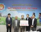 Shinnyo-en Nhật Bản tiếp tục tài trợ 18,000 USD để trao học bổng qua Quỹ Khuyến học Việt Nam