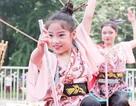 """""""Vũ công nhí"""" cuốn hút trong điệu múa Nhật Bản"""