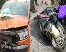 Tài xế xe Ford Ranger tháo biển số, rời hiện trường sau tai nạn chết người
