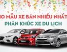 Mẫu xe du lịch nào bán chạy nhất Việt Nam năm 2016?