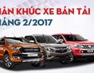 Toyota Hilux so kè cùng Chevrolet Colorado, Mazda BT-50 lấy lại vị trí