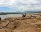 Doanh nghiệp lập đường, ngăn sông, tận thu cát trên sông Ba
