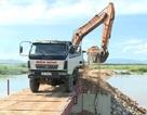Doanh nghiệp phá bỏ đường ngăn sông, trả lại dòng chảy sau phản ánh trên Báo Dân trí!