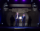 """Vinh danh """"Dự án nhà ở có thiết kế kiến trúc đẹp nhất Châu Á  2017"""""""