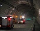 Giả định vụ cháy xe tải trong hầm đường bộ Đèo Cả