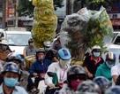 Sài Gòn những ngày cận Tết, kẹt xe từ giữa trưa