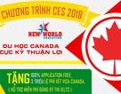 Ưu đãi du học Canada - 55 Trường ưu tiên không chứng minh tài chính 2018