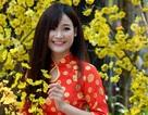 Thiếu nữ Sài Gòn diện áo dài xuống phố chụp hình Xuân