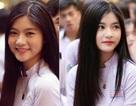 """Khoảnh khắc nữ sinh Sài Gòn trong tà áo dài """"đốn tim"""" dân mạng"""