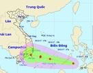 Áp thấp nhiệt đới khả năng thành bão đang tiến vào Biển Đông