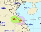 Bão suy yếu thành áp thấp nhiệt đới, nhiều nơi mưa to đến rất to