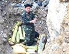 Đào đất san vườn, phát hiện quả bom nặng gần 200kg