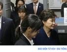 Hàn Quốc mở phiên xét xử sơ thẩm đầu tiên đối với bà Park Geun-hye