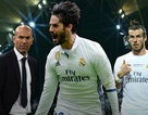 C.Ronaldo gây sức ép loại Gareth Bale, HLV Zidane khó xử