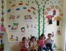 Hình ảnh ngày khai giảng đáng yêu tại trường mầm non mang tên Dân trí
