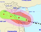 Bão số 10 duy trì cấp độ rất mạnh khi vào vùng biển Nghệ An - Quảng Trị