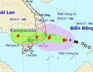 Bão số 14 đang hướng vào các tỉnh Khánh Hòa - Bình Thuận