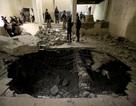 Cảnh đổ nát bên trong bảo tàng bị IS tàn phá ở Iraq