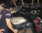 Đập phá, đốt xe Fortuner vì nghi nhóm người trong xe bắt cóc trẻ em