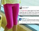Bé gái 10 tuổi bị cấm bay vì mặc quần legging
