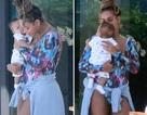 Beyonce Knowles lần đầu khoe cặp sinh đôi mới sinh
