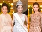 """Mỹ nhân Việt """"dập dìu"""" dự ra mắt Hoa hậu Đại Dương 2017"""