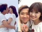 Trấn Thành - Hari Won tình tứ hôn nhau trên du thuyền tại Hàn Quốc