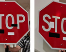 Sticker trên biển báo giao thông có thể làm nhiễu loạn xe tự lái